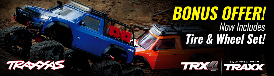 TRX-4 with Traxx - Tire/wheel Promo
